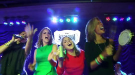 A ladies' night out in Rio: Natalie Morales, Hoda Kotb, and Jenna Bush Hager