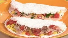 Tapioca crepes: Camila Alves makes a Brazilian-style breakfast