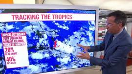 Atlantic storm close to making landfall in Florida