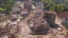 Italy earthquake: Hope fading for victims still missing in devastation
