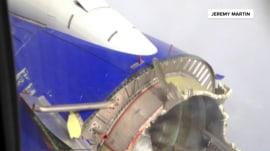 Southwest flight makes emergency landing after engine trouble