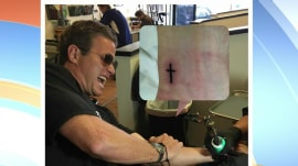 Billy Bush gets tattoo with his daughter for her 18th birthday