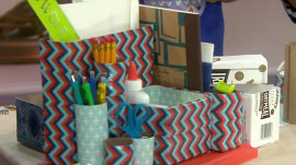 Back-to-school DIY projects to help kids stay clutter-free