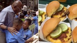 Al Roker debuts new Shake Shack 'Roker Burger' – and these kids love it!