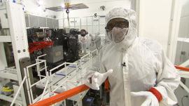 Get an exclusive first look at NOAA's new weather satellite