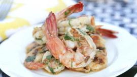 Grilled shrimp with caipirinha vinaigrette: A quick Brazilian-style dinner