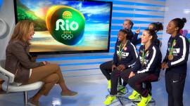 US women's gymnastics team sing 'Happy Birthday' to Hoda