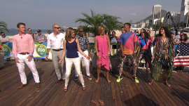 Watch the TODAY anchors get a dance lesson, Brazilian style