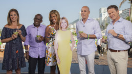 Did Savannah Guthrie make it down to Rio after all? Well, sort of…