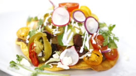 Shrimp and vegetable tostadas: Chef Ben Ford makes them scrumptious