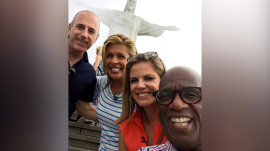 TODAY anchors make 'miraculous' visit to Christ the Redeemer