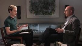 Watch 'Hollywood Medium' Tyler Henry give Matt Lauer an emotional reading