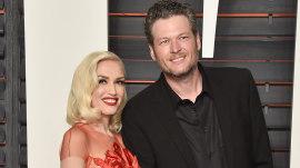 When did Blake Shelton and Gwen Stefani first flirt?