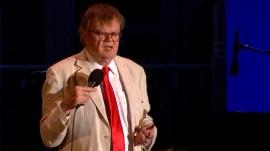 Legendary 'Prairie Home Companion' radio host Garrison Keillor records his last show