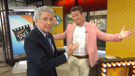 Regis Philbin welcomes Billy Bush to TODAY with New York treats