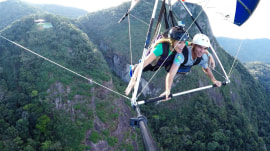 Hang gliding over Rio: Get a bird's-eye view of beaches, largest urban forest
