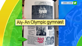 Aly Raisman (correctly) predicted she would be an Olympic gymnast