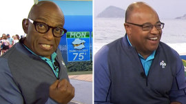 Al Roker can't avoid his 'nemesis,' NBC Sports' Mike Tirico, in Rio