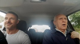 Dad with Alzheimer's sings karaoke with son