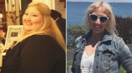 How this woman lost 350 pounds in 4 years