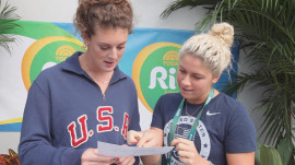 Watch Olympians try to read Portuguese