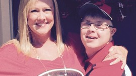Young man with Down syndrome excitedly learns he's been accepted to UGA