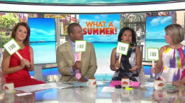 Which TODAY anchor had the better summer?
