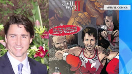 See Canada's Prime Minister Justin Trudeau transformed into an action hero