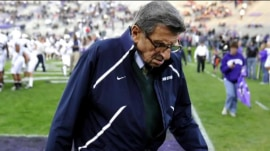 Former football coach Joe Paterno to be honored at Penn State
