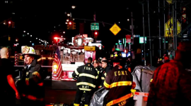 'Intentional' explosion rocks Chelsea: Dozens injured in NYC blast