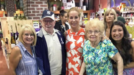 Lunch, wine, football: KLG and Hoda had busy weekends