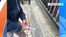 Philadelphia hopes new urine-proof paint will make a big splash in subway