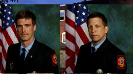 Firefighters killed after being trapped in burning Delaware home