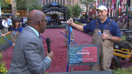 Ocean Spray sets up cranberry bog at 30 Rock for 12th year in a row