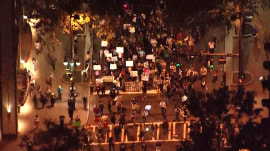 Charlotte protests mostly peaceful; Keith Lamont Scott's family views video