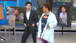 Watch Ken Jeong show his dance moves to Debbie Allen