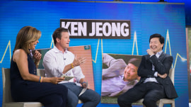 Ken Jeong: My wife signs off on 'Dr. Ken' plotlines