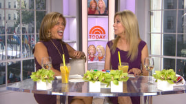 Hoda: I could never make out with my boyfriend in front of my dad