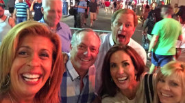 Hoda's busy Labor Day weekend in New Orleans, Rehoboth Beach