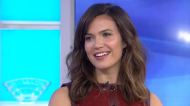 Mandy Moore: My 'This Is Us' co-star Milo Ventimiglia has a nice tush