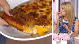 Pizza Hut has grilled cheese-stuffed crust, and Kathie Lee loves it