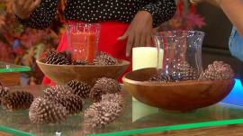 Pine cone centerpiece, toilet paper pumpkins: Fall decor hacks to DIY