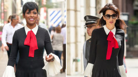 Amal Clooney or Tamron Hall: Who wore it better?
