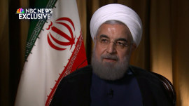 Iranian President Hassan Rouhani talks relations with US after election