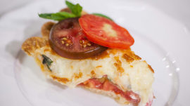 Try this quick and easy tomato pie recipe