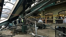 NJ train crash witness: Train was 'derailing down' on people 'running for their lives'