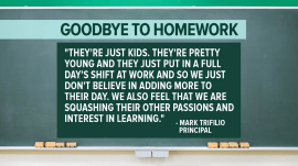Goodbye to homework: More schools give students the night off