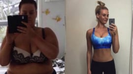Woman loses half her size in less than a year