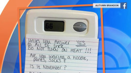 Here's one mom's brilliant solution to her thermostat wars