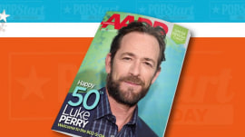 90's heartthrob Luke Perry lands on an unexpected magazine cover